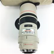 Sale 8648A - Lot 8 - Canon EF Image Stabiliser 300mm/F4 L IS Lens with Tripod Mount, in Canon Carry Case