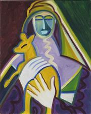 Sale 8708A - Lot 562 - Luke Roberts (1952 - ) - Fame Mary II, 1999 50.5 x 40.5cm