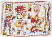 Sale 8722 - Lot 526 - David Larwill (1956 - 2011) - Decisions, Decisions 1991 33 x 45cm