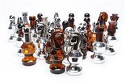 Sale 8725 - Lot 39 - Avon Perfume Bottle Chess Set