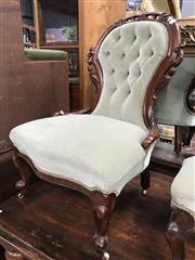 Sale 8822 - Lot 1582 - Heavily Carved Grandmother Chair