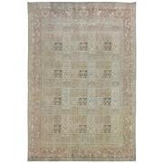 Sale 8910C - Lot 23 - Iran Vintage Overdye Moud Rug, 287x195cm, Handspun Wool