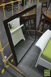 Sale 8398 - Lot 1078 - Modern Bevel edge Mirror
