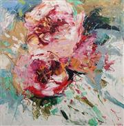 Sale 8738A - Lot 5022 - Cheryl Cusick - Rosy Roses 101.5 x 101.5cm