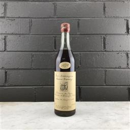 Sale 9089 - Lot 501 - 1979 Francis Darroze Domaine de Peyron, Bas Armagnac - in box