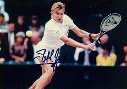 Sale 9152 - Lot 2057B - A signed photo of Steffi Graff
