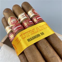 Sale 9250W - Lot 764 - H. Upmann Magnum 50 Cuban Cigars - box of 10 cigars, stamped June 2020