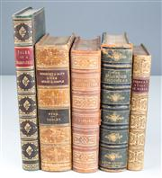 Sale 8379A - Lot 27 - Five early volumes inc. The Pilgrims Progress, Curiosities of Literature and Tales of a Grandfather