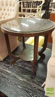 Sale 8390 - Lot 1523 - Art Deco Occasional Table