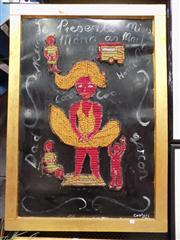 Sale 8437 - Lot 2001 - Peter Cooley (1956 - ) - Je Presente Miss Mona as Marilyn... 119 x 80cm