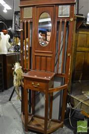Sale 8472 - Lot 1062 - Mahogany Hall Stand