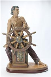 Sale 8662 - Lot 78 - Lladro Figure The Mariner on Plinth