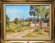 Sale 8720 - Lot 2028 - Paul McDonald Smith - Towards the Range, Kangaroo Ground 40 x 60cm (frame 60 x 75cm)