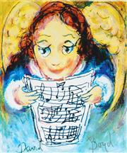 Sale 8930A - Lot 5012 - David Boyd (1924 - 2011) - Angelic Choir 38.5 x 28.5 cm (sheet size)
