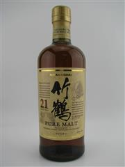 Sale 8439 - Lot 728 - 1x Nikka Whisky 21YO Taketsuru Distillery Pure Malt Japanese Whisky