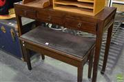 Sale 8523 - Lot 1098 - Chinese 3 Drawer Hall Table