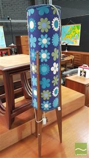 Sale 8364 - Lot 1064 - Teak Framed 1960s Rocket Lamp