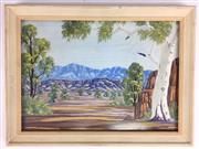 Sale 8607R - Lot 64 - Clem Abbott - Watercolour (24 x 34cm)