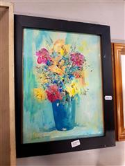 Sale 8678 - Lot 2091 - Steve Tandori - Blooms, oil, SLL