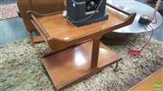 Sale 8383 - Lot 1081 - Unusual 1960s Teak Tea Trolley