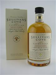 Sale 8439 - Lot 721 - 1x Sullivans Cove Double Cask Single Malt Tasmanian Whisky - cask no: DC080, youngest barrel date: 22/08/2000, bottle date: 13/07/...