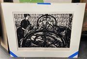 Sale 9019 - Lot 2070 - Peter Ransom (1957 - ) - Mrs Varloc Brings Her Husband a Cup of Tea 1980 39.5 x 59.5 cm
