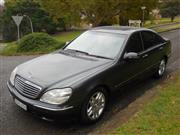 Sale 8395V - Lot 1 - 2002 Mercedes Benz S320 Sedan                                              Reg: CVS 03S...