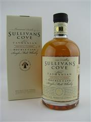 Sale 8439 - Lot 722 - 1x Sullivans Cove Double Cask Single Malt Tasmanian Whisky - cask no: DC080, youngest barrel date: 16/01/2001, bottle date: 22/02/...