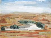 Sale 8704 - Lot 584 - William Pidgeon (1909 - 1981) - The White River 45 x 60.5cm