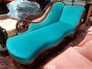 Sale 8831 - Lot 1033 - Victorian Mahogany Chaise Longue