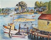 Sale 8901A - Lot 5060 - Cedric Emanuel (1906 - 1995) - Forster, Mid North Coast 35.5 x 45.5 cm