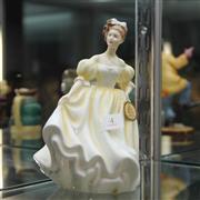 Sale 8351 - Lot 4 - Royal Doulton Figure Natalie by Peggy Davies