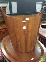 Sale 8412 - Lot 1028 - Danish Waste Paper Basket