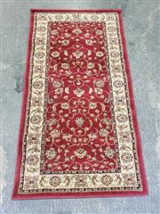 Sale 9034 - Lot 1096 - Turkish Made Red Tone Carpet (L80 x W50cm) -