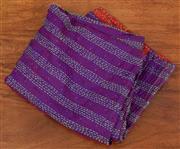 Sale 9066H - Lot 131 - A raw silk scarf