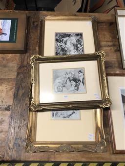 Sale 9139 - Lot 2049 - Group of Three Norman Lindsay Decorative Prints