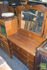 Sale 8390 - Lot 1198 - Maple Dressing Table