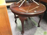 Sale 8412 - Lot 1055 - Occasional Table and Footstool