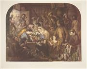 Sale 8504 - Lot 573 - John Robert Dicksee (1817 - 1905) - A Primrose from England (After Edward Hopley) 60 x 72cm