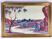 Sale 8607R - Lot 66 - Nelson Pannka - Watercolour (33 x 51cm)