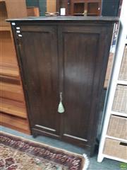 Sale 8601 - Lot 1561 - Slim Timber Cabinet