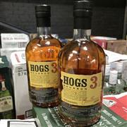 Sale 8801W - Lot 48 - 2x Hogs 3 Bourbon Whisky, 700ml