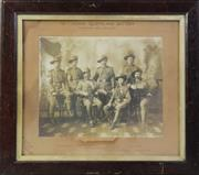 Sale 8994W - Lot 659 - A framed QLD Lighthorse Photogrpah, French Print And A Tribute Scroll
