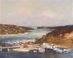 Sale 9141 - Lot 502 - Robert Hagan (1947 - ) The Spit oil on canvas 59.5 x 75 cm (frame: 86 x 101 x 8 cm) signed lower left