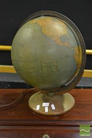 Sale 8520 - Lot 1071 - Rand McNally Indexed Terrestrial Globe, Made in U.S.A