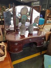 Sale 8601 - Lot 1290 - Kidney Shaped Dresser