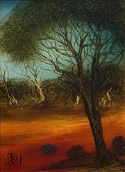 Sale 8692 - Lot 534 - Kevin Charles (Pro) Hart (1928 - 2006) - Landscape 28.5 x 21.5cm