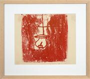 Sale 8741A - Lot 36 - Sidney Nolan (1917 - 1992) - Untitled (Lantern), c1946 25 x 30cm