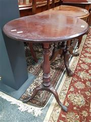 Sale 8831 - Lot 1026 - Georgian Mahogany Wine Table