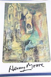Sale 8972 - Lot 40 - Eddy Batache Requiem Pour La Fin Des Tempes Collection of Prints